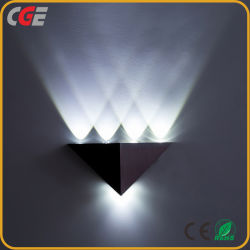 مصابيح LED للحائط ذات مصباح LED عصري مثالي LED عالية القدرة إضاءة للديكور المنزلى الجدار مصباح الجدار الخارجي بالجملة مصباح LED