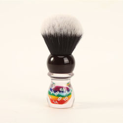 Yaqi de alta calidad de la suerte de 26mm Pincel de afeitado el pelo sintético de dados para hombres