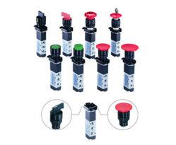 G1/8 솔레노이드 밸브/메기식 밸브/마언리 선택 스위치 밸브(5방향)(V-5-1/8-S)
