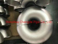 SMS304/316 Sanitarias de acero inoxidable grado 45-90 doblar el codo de tubo pinza/hilo/soldaduraprecio mayorista Cdpt1057