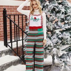 Stile caldo nuovo arrivo Natale indossare casual Natale Onesie Natale Donna onesie