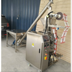Verticale melk/wassen/Thee/reinigingsmiddelen/Body/Chili/Spice/Coffee Automatische Poederzak Verpakkingsmachine voor poedertarwe Meel