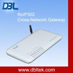 Gateway Cross-Network (RoIP302M) Radio/VoIP/GSM/construído no servidor SIP