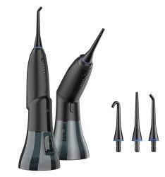 脱形成可能な充電式水フローサー 4 モード IPX7 防水歯科用クリーナー