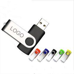 El suministro de la fábrica rápida USB Stick, regalo de promoción personalizada de la unidad Flash USB.
