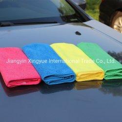 Serviette propre chiffon de nettoyage en microfibre de haute qualité des soins de voiture du ménage Serviette de nettoyage