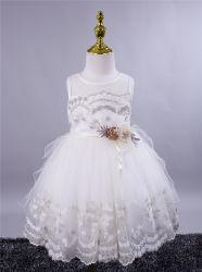 꽃 소녀 생일 파티 웨딩 드레스의 새로운 스타일 서열