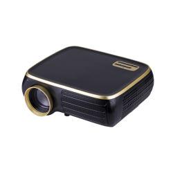 Htp M8s 기본 1080p LED HD 비디오 홈 시어터 프로젝터 4,500루멘의 4K 및 plusmn 40, Deg Digital Keystone Correction Miracast WiFi 지원 Android 선택 사항