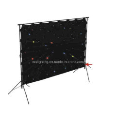 3m*6m RGBW LED Star Cloth achtergrond / LED Stage doek
