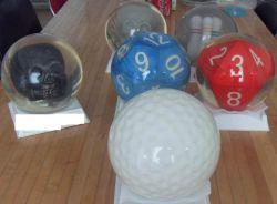de Ballen die van het Kegelen 6p-15p Usbc Privé Bal werpen