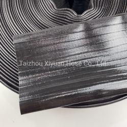 4inch noir haute pression en PVC flexible Layflat 40m