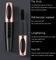 Groothandel Custom Private Label Waterproof Volumizing 4D Silk Fiber Eyelash Extensie Mascara