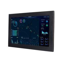 12 بوصة J1900 Win10 نقاط متعددة IP65 بتقنية FHD مقاومة للماء كمبيوتر ال سي دي PCAP i3 i5 الصناعي