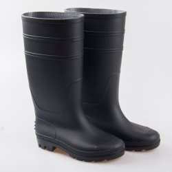 Trabajo de caucho negro de la granja de PVC lluvia arranca con la certificación CE