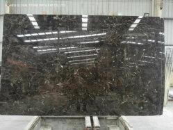 Fantasy China lastre di granito naturale/Quartzite Emperador interni in marmo marrone scuro Piastrelle di taglio parete pavimento a misura