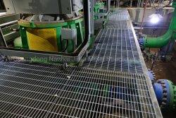 Galvanizados a quente Jimu gradeamento de aço soldadas Forge Simples ou lâminas serrilhadas