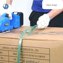 Ordinateur de poche sous tension de batterie portable PP en plastique PET cerclage de tension de la machine de soudage de friction