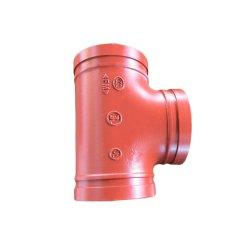 FM/UL 증명서를 가진 화재 싸움 강저 동등한 것 티를 위한 연성이 있는 철 관 이음쇠