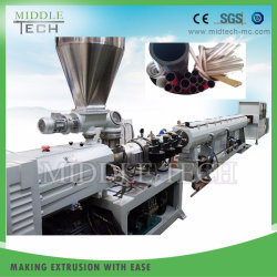 Grand diamètre (630mm) de la pression en PVC/plastique PVC pipe à eau/Tube/Extrusion d'équipement de flexible