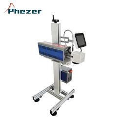ماكينة تمييز من نوع سطح الطاولة تعمل بالليزر من الألياف للبلاستيك