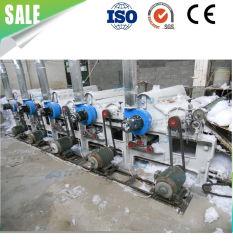 Resíduos têxteis de fibra de algodão tecido de algodão de seis rolos máquina de reciclagem de resíduos para máquina de reciclagem de resíduos de Vestuário Têxtil Suéter// T-shirt Jeans / Pano de resíduos