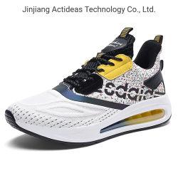 2021 la fábrica de China la moda Lace-up Non-Slip Mens zapatos zapatillas deportivas