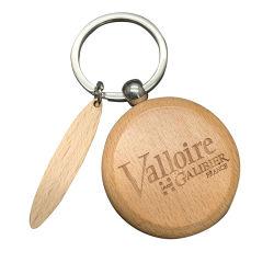 OEM Keychain di legno alla moda di prezzi di fabbrica per la decorazione