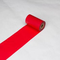 빨간색 리본을 인쇄하는 인쇄 기계 리본 TTR 수지 레이블 열전달