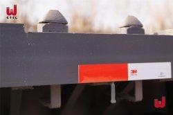40 contenedor de 20 pies de pie plano semi remolque con un excelente servicio