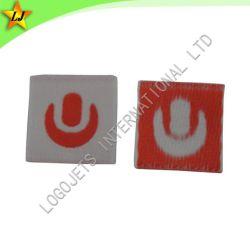 Etiqueta tejida (A028) Parche de militares y el bordado