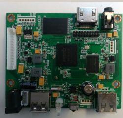 MP4/表示LCD PCBのボードを広告するAVI/DIVX完全なHD