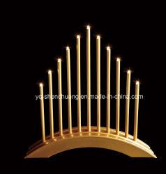 Verschillende Soorten Candles Bridge-Lamp Met Batterijvoeding