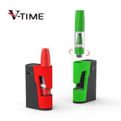 Botão Tbox 510 Caixa Vape Rosca bateria do dispositivo de Preaquecimento e cigarros