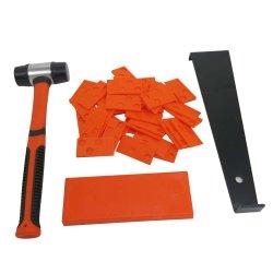 Instalação do Piso de madeira do Kit de pisos laminados espaçadores puxe a ferramenta da barra