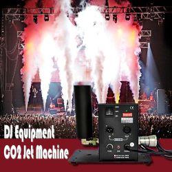 Mais de 10m discoteca do jato de CO2 Máquina de Nevoeiro fase equipamentos de efeito