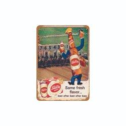 طباعة الشعار المخصص بالجملة ملصقات معدنية لمتجر القهوة