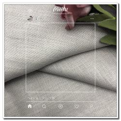 Le linge 100% pur un épaississement du tissu pour la tenue vestimentaire et écologique de la Teinture Home Textile