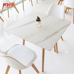 изготовленный на заказ<br/> твердой поверхности Кофейный обеденный стол