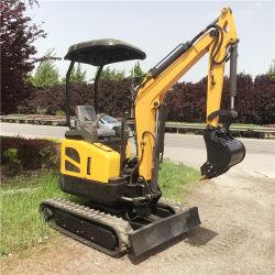 Bom Preço 2 2,5 3,5 ton construção usados Mini escavadora de rastos hidráulico da máquina para venda