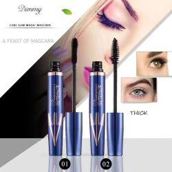 Kj342 Mascara couleur allonger les cils le mascara à faire votre propre marque de maquillage Mascara Vegan 4D Fibre ont Stock