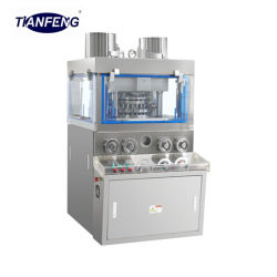 Zpw29/Zpw31 rotary tablet press Machine & machines pharmaceutiques/avec système de lubrification/huile et écran tactile PLC