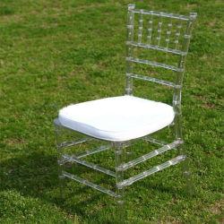 Freier Hochzeits-Ereignis-Bankett-Stuhl Harz-Tiffany-Chiavari mit Kissen