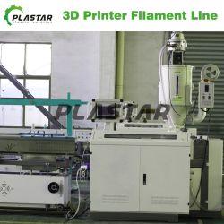 تخفيضات ساخنة ABS بلوك HIPS PA Nylon EVA Peek PETG ماكينة استخراج الفتيل ثلاثية الأبعاد
