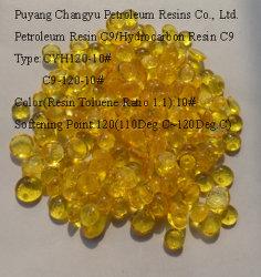 Индикатор желтого цвета гранулированных твердых термопластичных C9 содержание углеводородов нефти смолы для клея /клей/краски