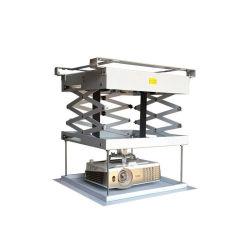 Alto peso de carregamento 3 Lados Tesoura motorizado de Aço de Teto para Projetor Suporte de Elevação