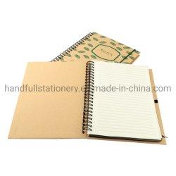Novo design do notebook espiral personalizado com caneta/Travel Oficial/Impressão portátil