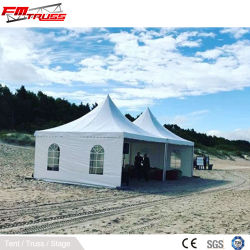 3x3 4X4 5x5 6X6m 알루미늄 PVC 정자 피나클 파고다 텐트