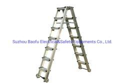 Einfach, Aluminiumlegierung-Jobstepp-Strichleiter zu verschieben