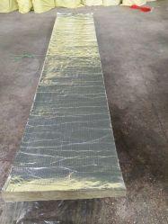 Coperta in fibra di vetro lamina di lana di roccia di alluminio su una lana di roccia di Sidro