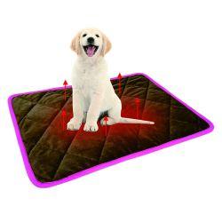 Het nieuwe Ontwerp Heet Amazonië verkoopt Toebehoren van het Huisdier van het Bed van Fozzy van de Pluche van de Kat van de Hond de Warme Comfortabele